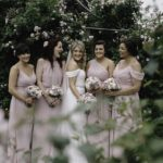 lilac and blush bridesmaids